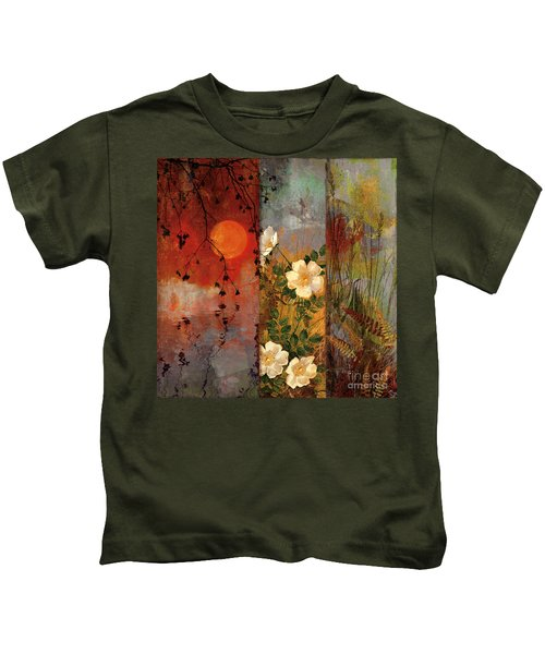 Whisper Forest Moon II Kids T-Shirt