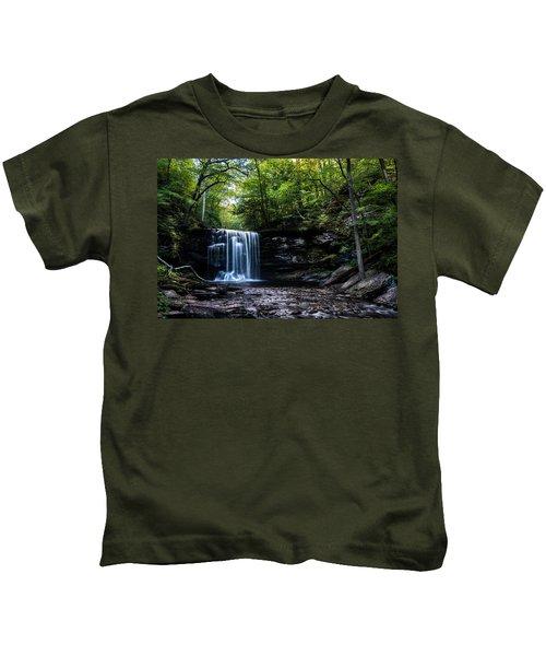 Whispering Falls Kids T-Shirt