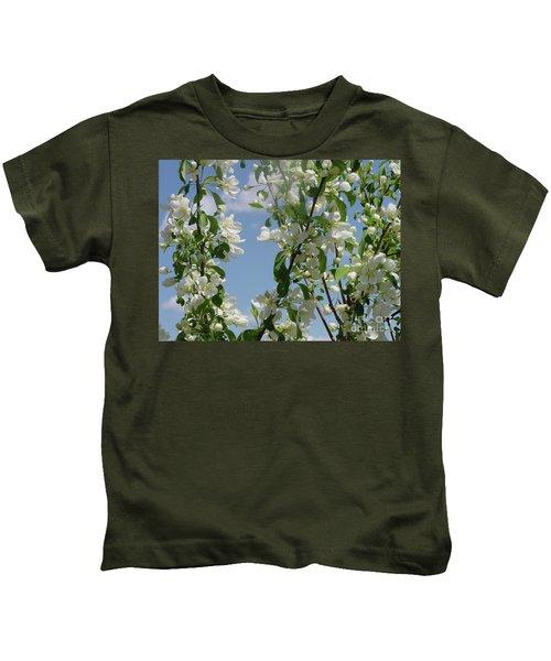 White Crabapple Kids T-Shirt
