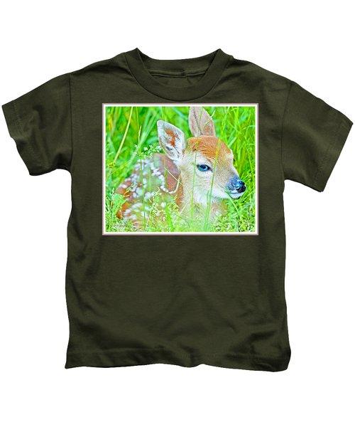 Whitetailed Deer Fawn Kids T-Shirt