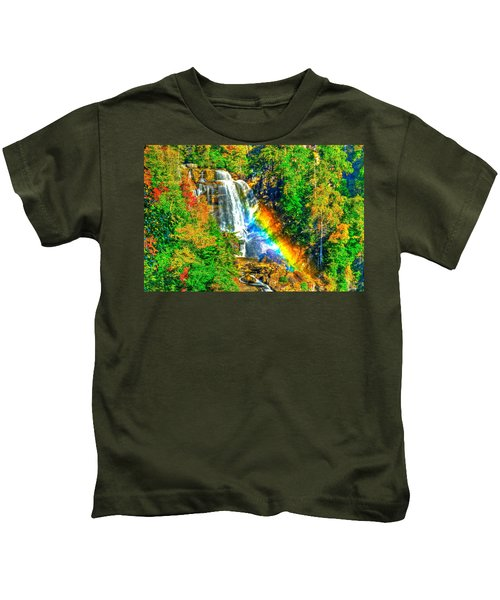 Whitewater Rainbow Kids T-Shirt
