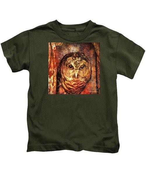 Who Whoo Yoo 2015 Kids T-Shirt