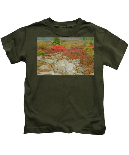 Wild Blueberries Kids T-Shirt