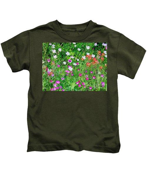 Wild Color Patch Kids T-Shirt