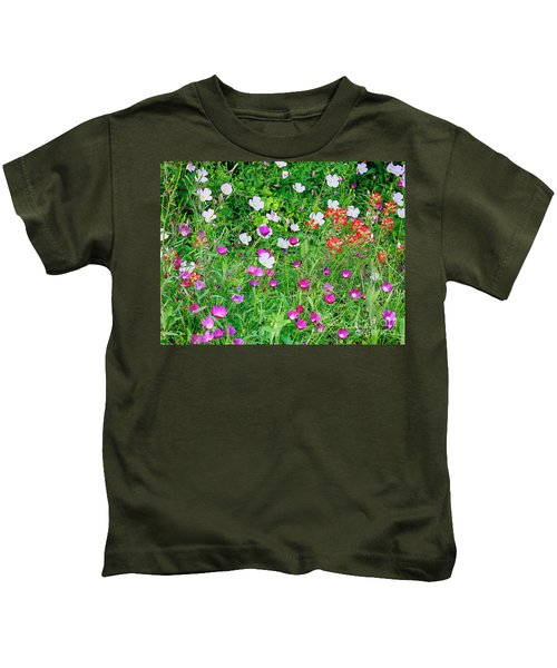 Wild Color Patch Kids T-Shirt