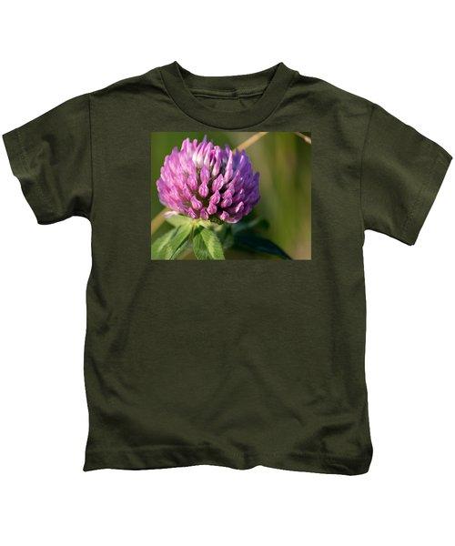 Wild Flower Bloom  Kids T-Shirt