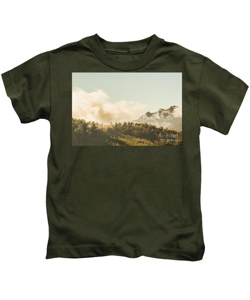 Wild Morning Peak Kids T-Shirt