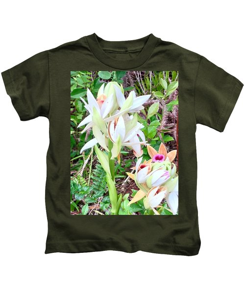Wild Orchids In Pastel 2 Kids T-Shirt