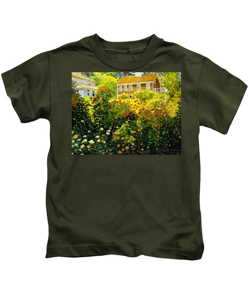 Wild Rose Country Kids T-Shirt