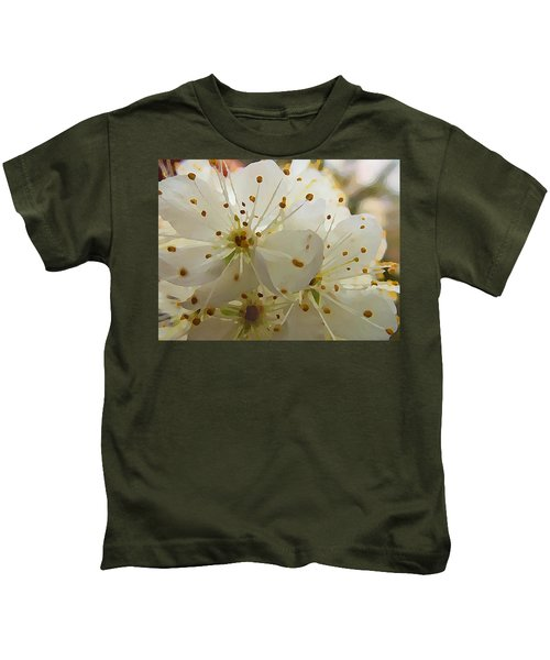 Wild Sand Plum  Kids T-Shirt