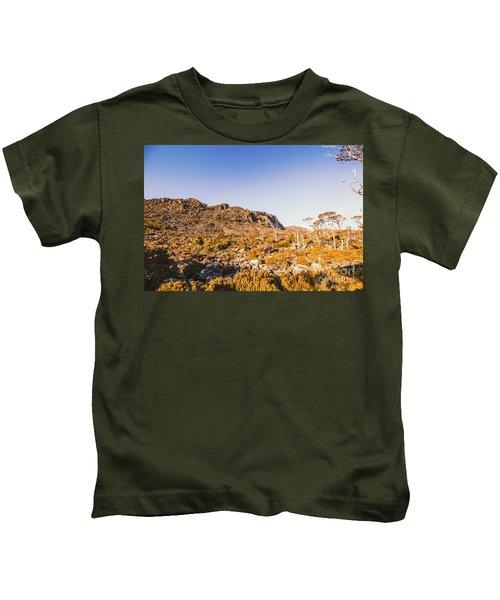 Wild Wilderness Of Stone Geology Kids T-Shirt