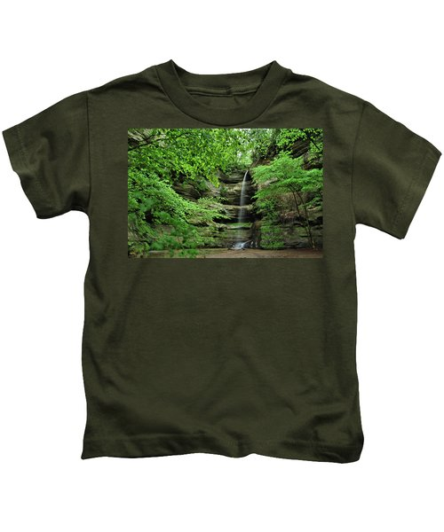Wildcat Canyon Falls Kids T-Shirt