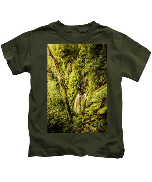 Wilderness Falls Kids T-Shirt
