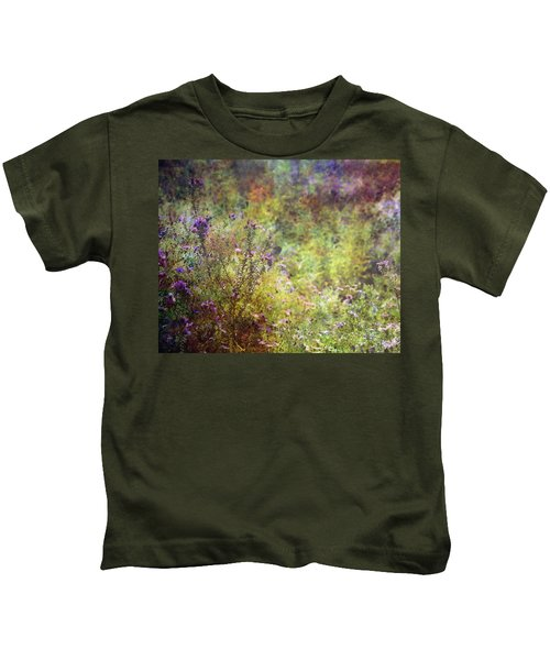 Wildflower Garden Impression 4464 Idp_2 Kids T-Shirt