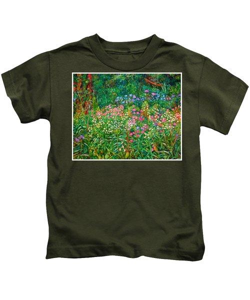Wildflowers Near Fancy Gap Kids T-Shirt