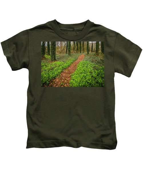 William Butler Yeats Woods Of Coole Park Kids T-Shirt