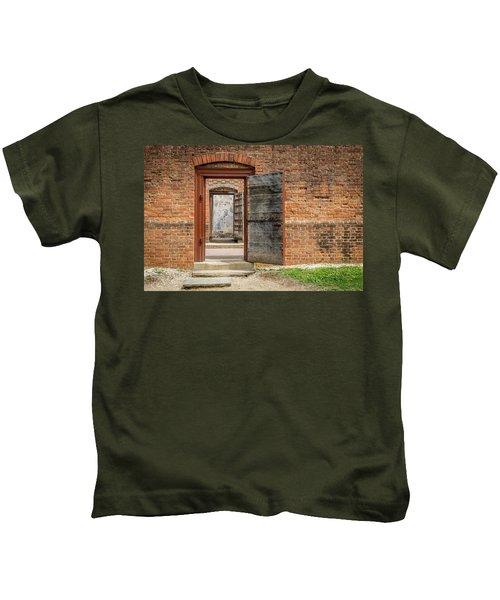 Williamsburg Public Gaol Kids T-Shirt