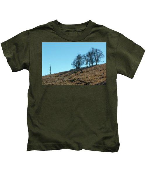 Windswept Trees - December 7 2016 Kids T-Shirt