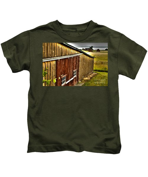 Wine Barn Kids T-Shirt