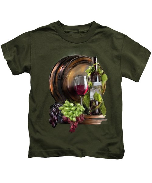 Wine Cellar Kids T-Shirt