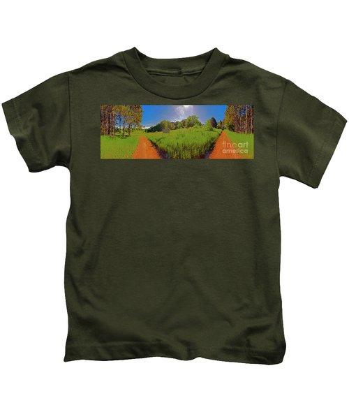 Wingate, Prairie, Pines Trail Kids T-Shirt