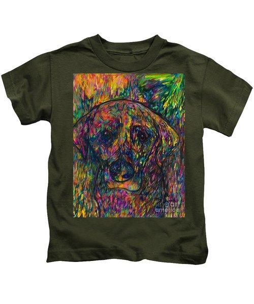 Winnie The Dog Kids T-Shirt