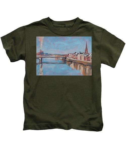 Winter In Wyck Maastricht Kids T-Shirt