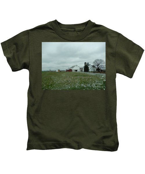 Winter Letting Go Kids T-Shirt
