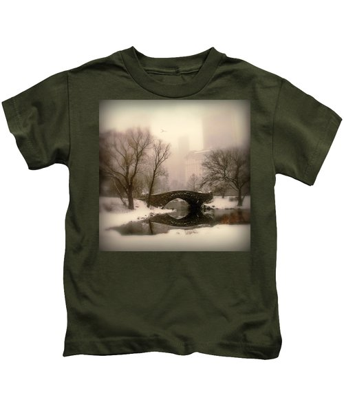 Winter Nostalgia Kids T-Shirt