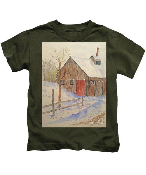 Winter Sugar House Kids T-Shirt