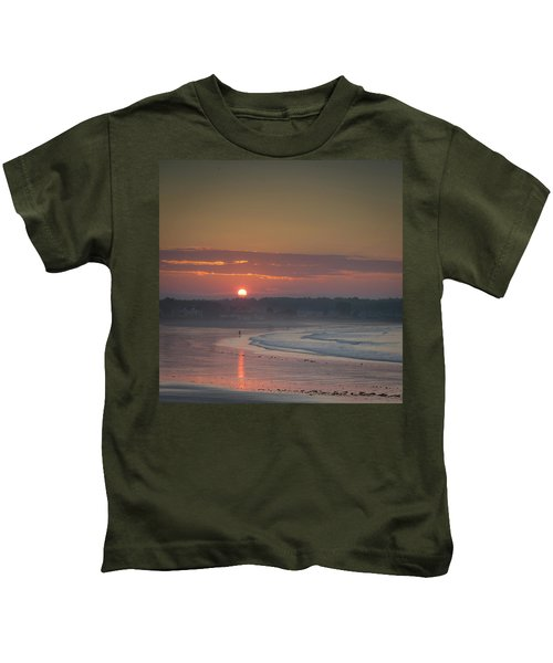 Winter Sunrise - Kennebunk Kids T-Shirt