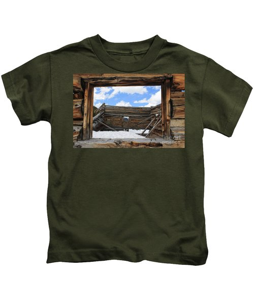 Winter Window 2 Kids T-Shirt
