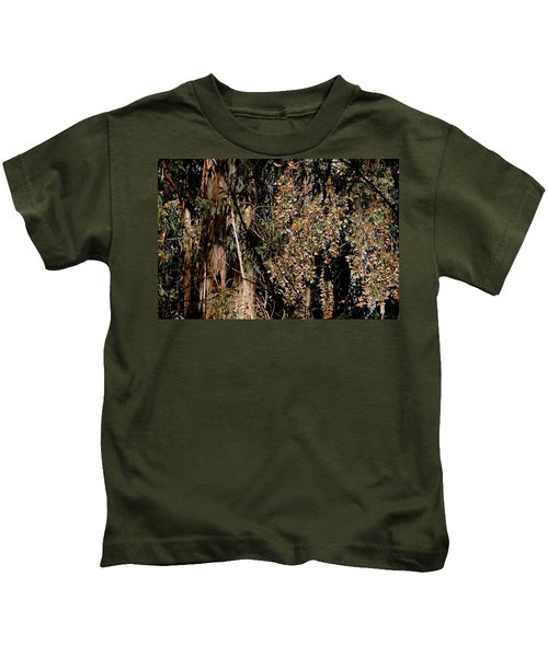 Wintering Monarchs Kids T-Shirt