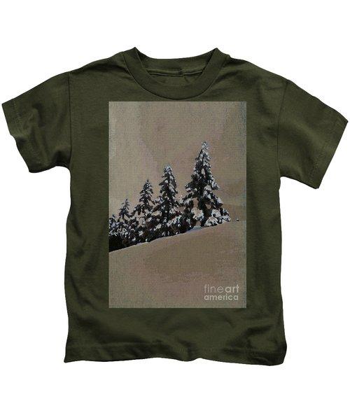 Winters Eve Kids T-Shirt