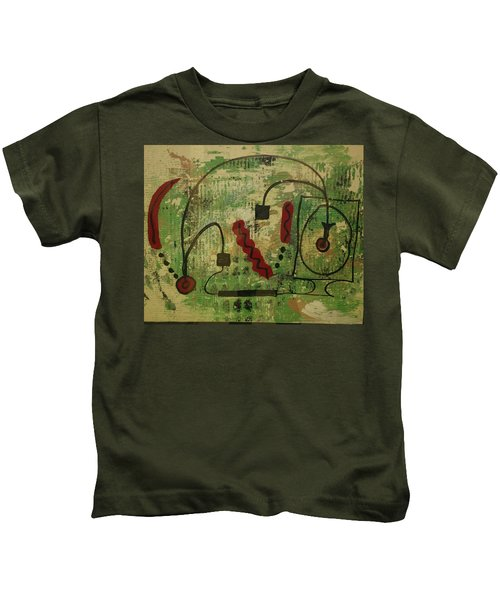 Wired Composition Enigma Kids T-Shirt