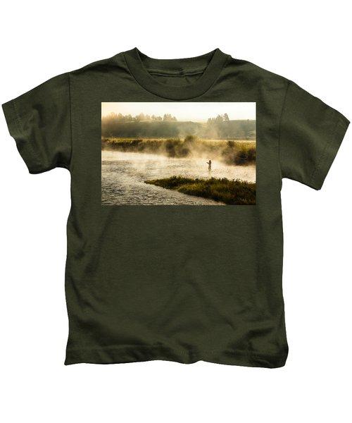 Wisps Of Fog Kids T-Shirt