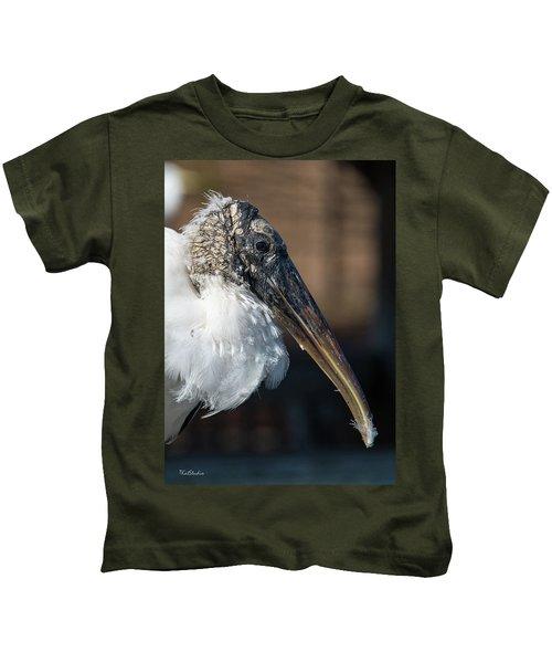 Wood Stork Kids T-Shirt