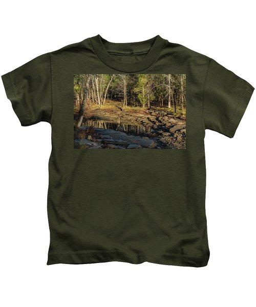 Wooded Backwash Kids T-Shirt
