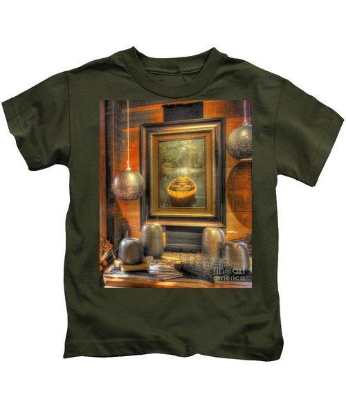 Wooden Art Kids T-Shirt