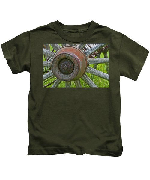 Wooden Spokes Kids T-Shirt