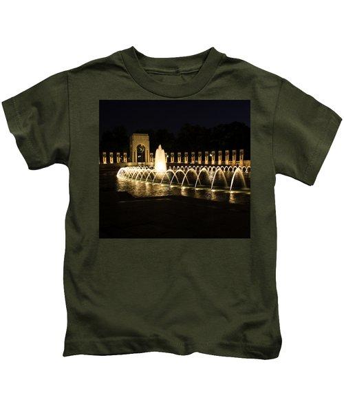 World War Memorial Kids T-Shirt