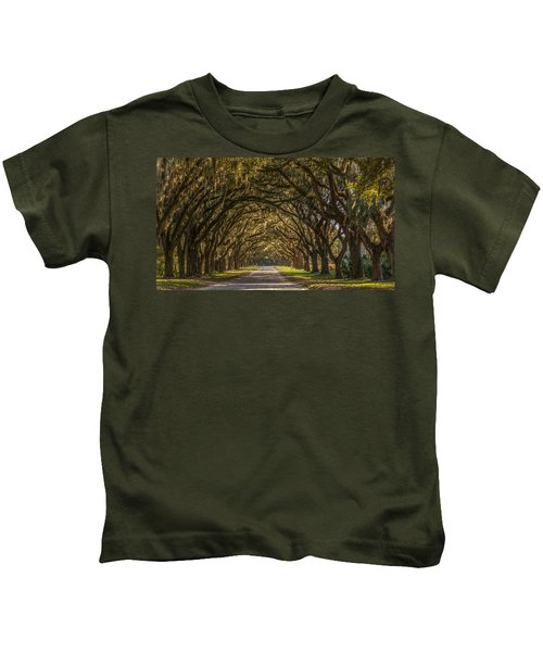 Wormsloe Historic Site Kids T-Shirt