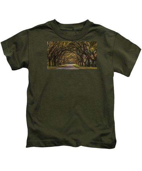 Wormsloe Historic Site Kids T-Shirt