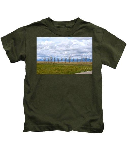 Wyoming-dwyer Junction Kids T-Shirt