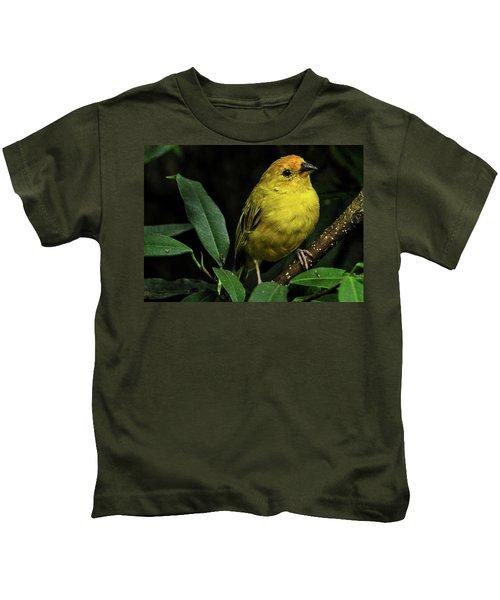 Yellow Bird Kids T-Shirt