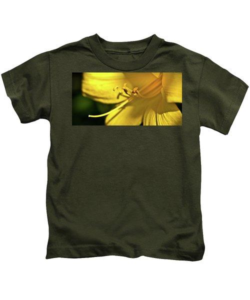 Yellow Daylily Kids T-Shirt
