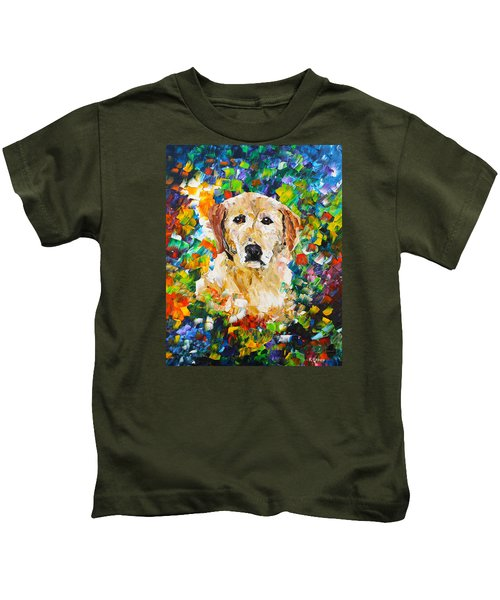yellow Lab Kids T-Shirt