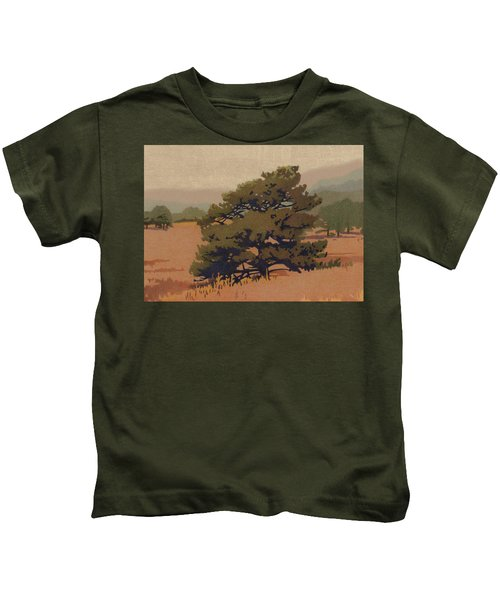 Yellow Pine Kids T-Shirt