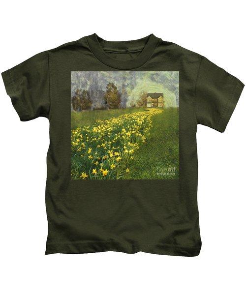 Yellow River To My Door Kids T-Shirt