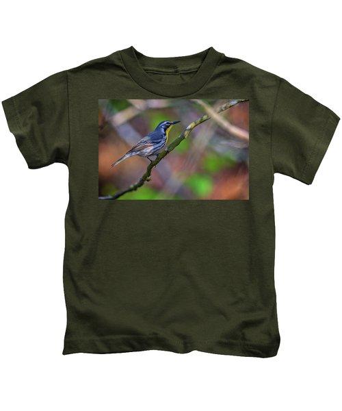 Yellow-throated Warbler Kids T-Shirt